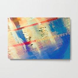 Swimming Pool 01B - Abstract Metal Print