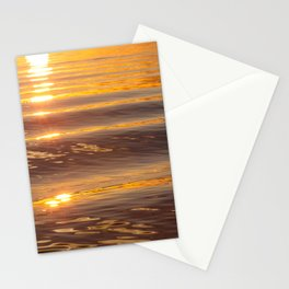Golden Water Stationery Cards