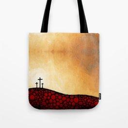Forgiven - Christian Art By Sharon Cummings Tote Bag