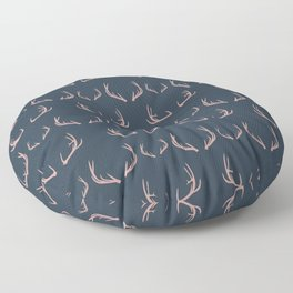 Antlers (Frost) Floor Pillow