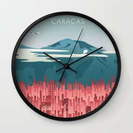 Caracas Wall Clock
