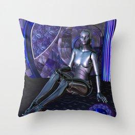 Shebot Karrisiel Throw Pillow