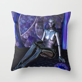 Shebot Karrisiel Throw Pillow