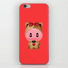 Love Bear iPhone & iPod Skin