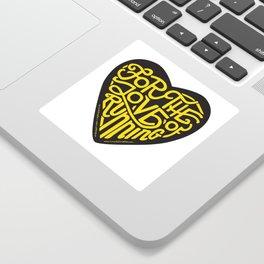 "For The Love Of Running - ""Steeltown II"" Sticker"