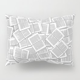 Literary Overload Pillow Sham