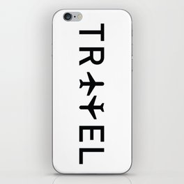 Travel and enjoy iPhone Skin