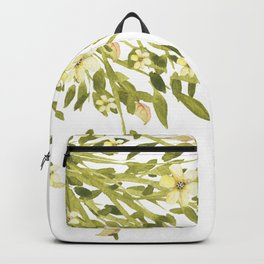 Yellow flower bunch Backpack