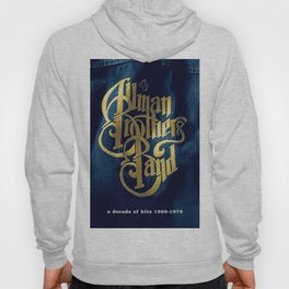 A Decade of Hits 1969 - 1979 by The Allman Brothers Band - Vectorized Hoody