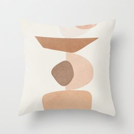 Balancing Elements II Throw Pillow