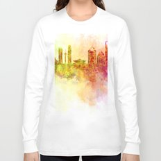 Splatted City Long Sleeve T-shirt
