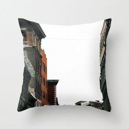 Rue Saint Charles 8377 Throw Pillow