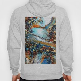Agate Geode Abstract Hoody