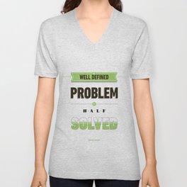 Well defined problem Unisex V-Neck