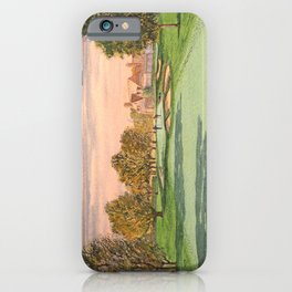 Winged Foot West Golf Course NY iPhone Case