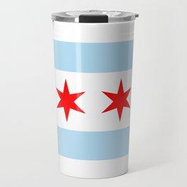 Chicago City Flag Windy City Standard Travel Mug