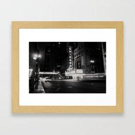 Chicago Theatre ... Framed Art Print