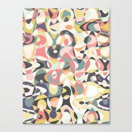 Deco Tumble Canvas Print