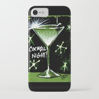 martini iPhone & iPod Cases featuring Martini  by David Miley