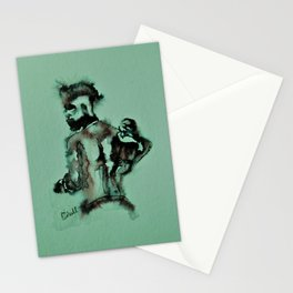 Father and Son by Machale O'Neill Stationery Cards