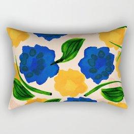 Effervescent Sun land Rectangular Pillow