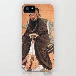 Confucius iPhone Case