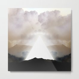 Abstract Landscape 02: New Beginnings Metal Print