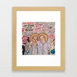 The Most Holy Land Framed Art Print