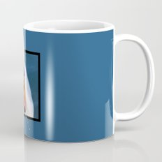 Swan with 3D pop out of frame effect Mug