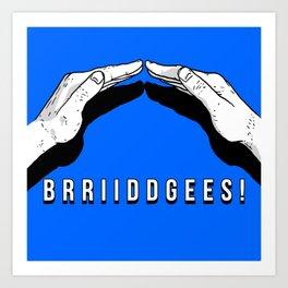 Bridges! Art Print
