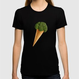 broccoli ice cream T-shirt