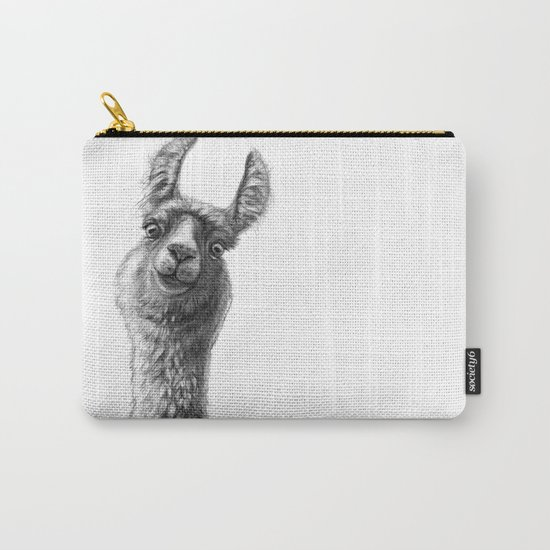Cute Llama G135 Carry-All Pouch