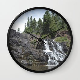 Gooseberry Falls Wall Clock