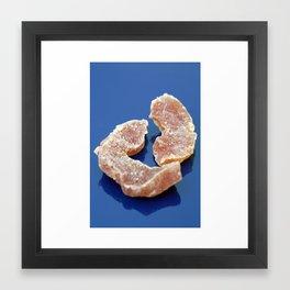 Papaya Spears Framed Art Print