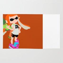 Inkling Girl (Orange) - Splatoon Rug