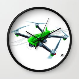 CP Green Machine Wall Clock