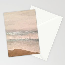 Long Beach Island on a Stormy Day in Early September Stationery Cards