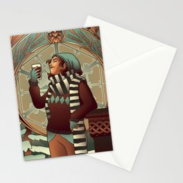 Winter Session Stationery Cards