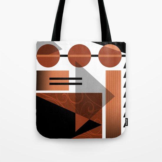 AZTEC DESERT | brown Tote Bag