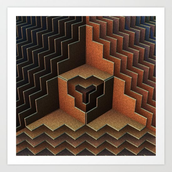 Geo Metric Art Print