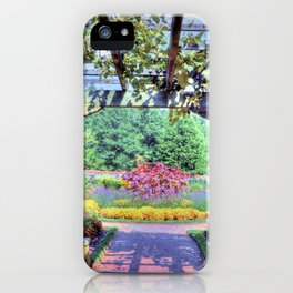 Grape Arbor iPhone Case