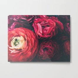FLORAL WINTER Metal Print