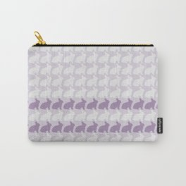 White Rabbits, White Rabbits, White Rabbits........purple Carry-All Pouch