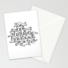 Hot Haute Hawt Stationery Cards