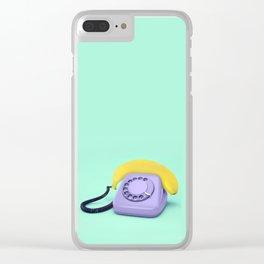 HELLO BANANA Clear iPhone Case
