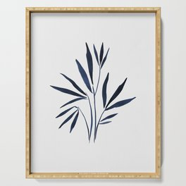 Bamboo | Blue Ink  Serving Tray
