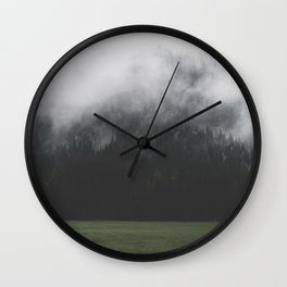 Spectral Forest - Landscape Photography Wall Clock