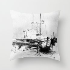 Pirates of the Baltic-sea Throw Pillow