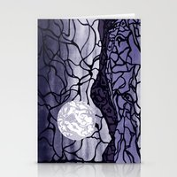 cracked Stationery Cards featuring Cracked by Mel Moongazer