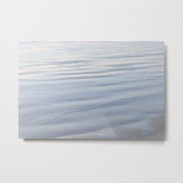 GLISTENING BEACH Metal Print